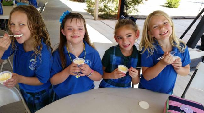 Larissa-bday-treats-at-school