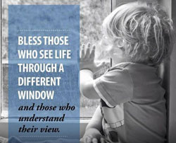 Blessed those who see life, quote