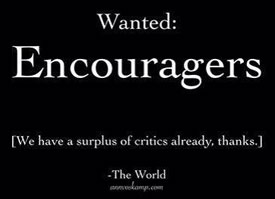 Wanted: Encouragers image