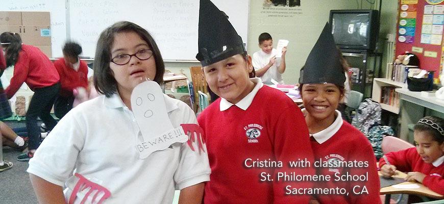 Cristina, St. Philomene School