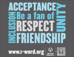 Be A Fan -- end the word