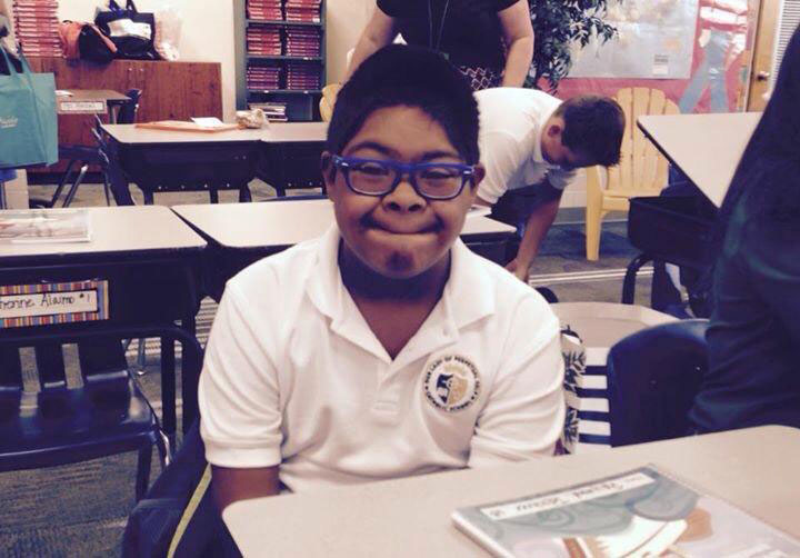 Raymond in 6th grade at Our lady of Perpetual Help in Scottsdale Arizona