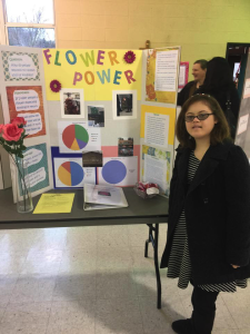 Congratulations to Gretchen who completed her science fair project for St. Apollinaris's Catholic School in Napa, California. Gretchen did her project on random acts of kindness and the power of a single flower given to a stranger.